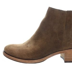"""KORK EASE """"MINDO"""" SUEDE BOOTIES SIZE 9 NWT"""